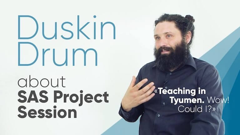 "Duskin Drum: ""Teaching in Tyumen. Wow! Could I?"""