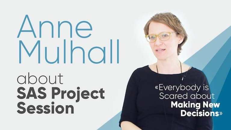 "Anne Mulhall: ""Everybody Is Scared about Making New Decisions"""