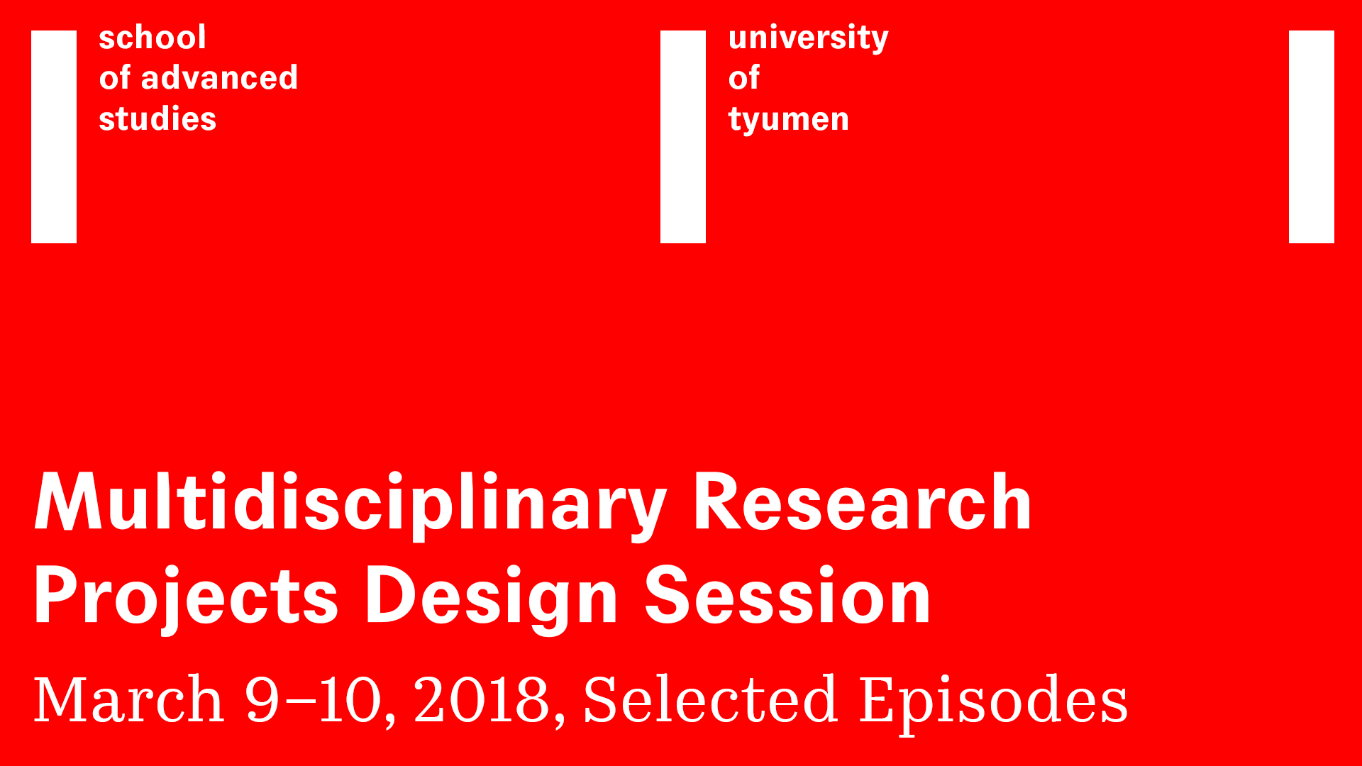 Select Discussion Episodes from Multidisciplinary Research Projects Design Session