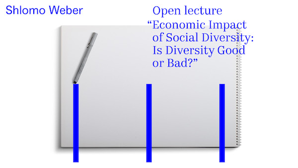 "Open lecture ""Economic Impact of Social Diversity: Is Diversity Good  or Bad?"""